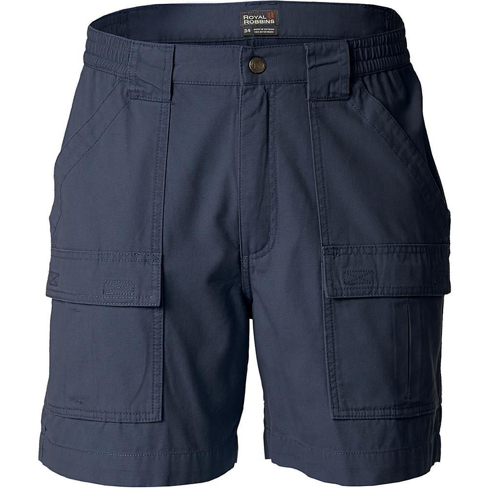 Royal Robbins Blue Water Short 36 - Navy - Royal Robbins Womens Apparel - Apparel & Footwear, Women's Apparel