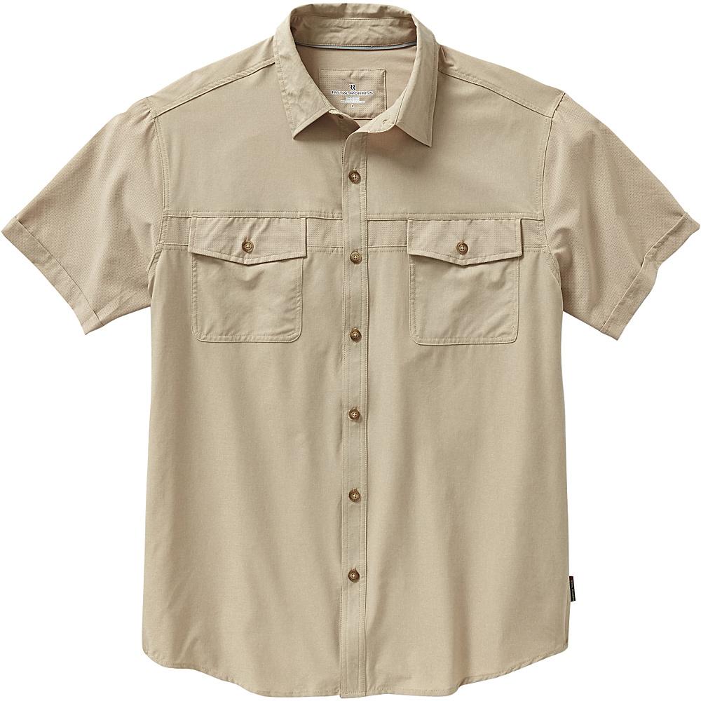 Royal Robbins Diablo Short Sleeve L - Desert - Royal Robbins Mens Apparel - Apparel & Footwear, Men's Apparel