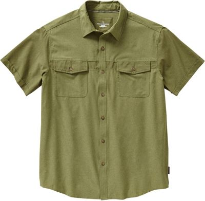 Royal Robbins Diablo Short Sleeve 2XL - Aloe - Royal Robbins Men's Apparel