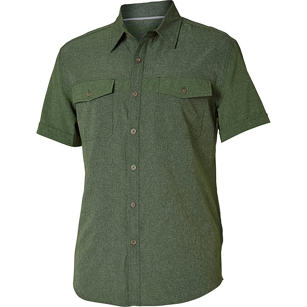 Royal Robbins Diablo Short Sleeve S - Garden - Royal Robbins Mens Apparel - Apparel & Footwear, Men's Apparel