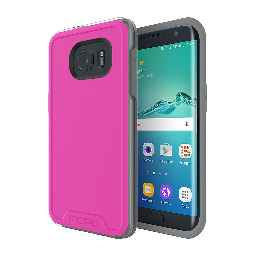 Incipio Performance Series Level 4 for Samsung Galaxy S7 Edge Pink/Gray - Incipio Electronic Cases - Technology, Electronic Cases