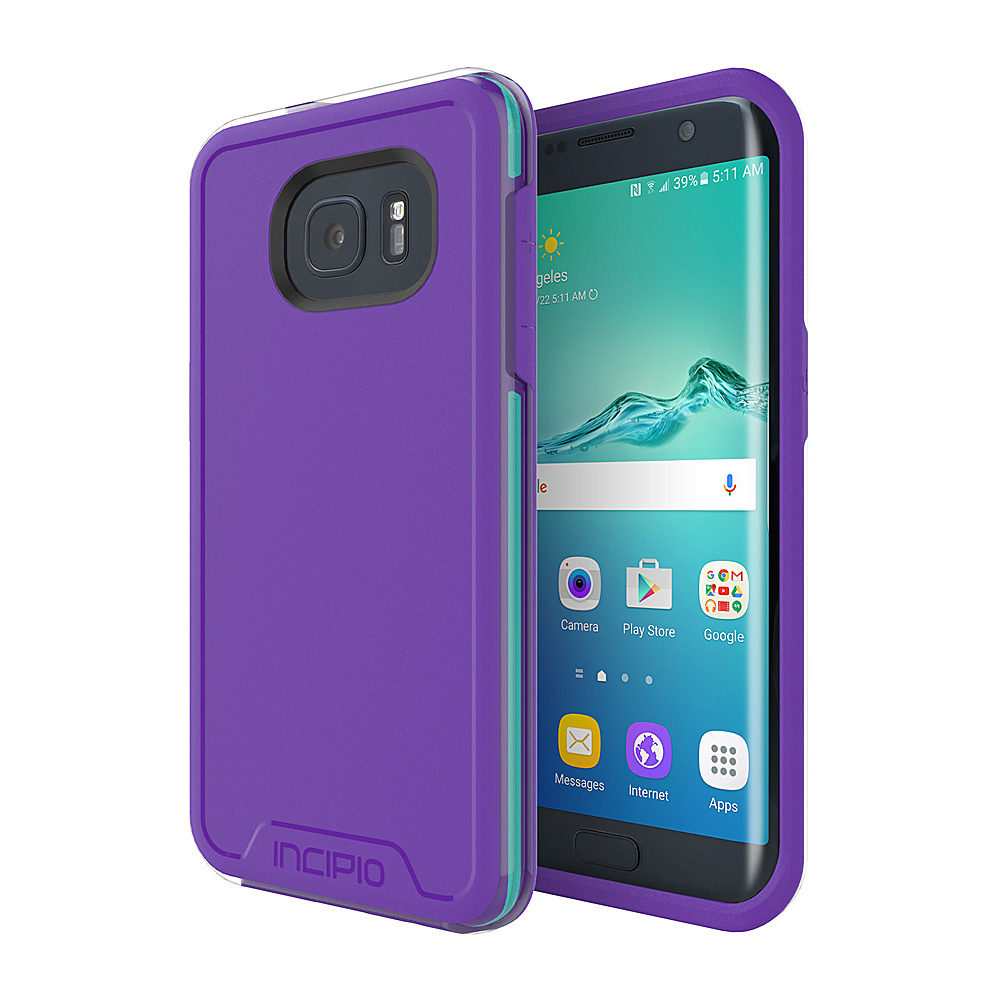 Incipio Performance Series Level 4 for Samsung Galaxy S7 Edge Purple/Teal - Incipio Electronic Cases - Technology, Electronic Cases