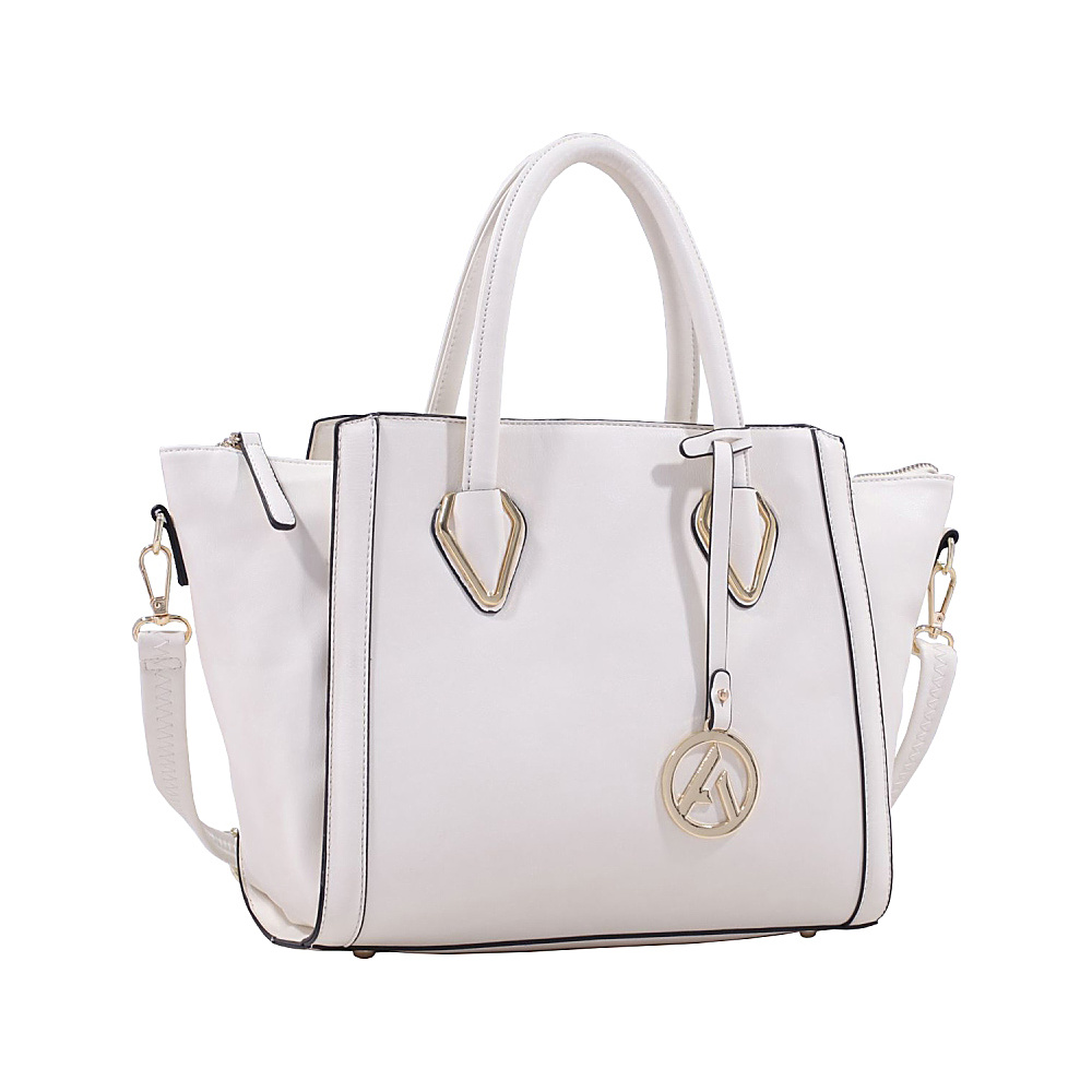 MKF Collection Cadence Handbag Beige MKF Collection Manmade Handbags