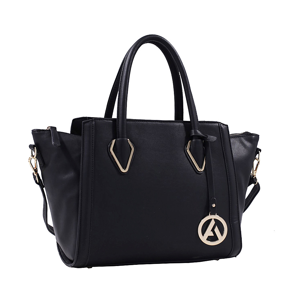 MKF Collection Cadence Handbag Black MKF Collection Manmade Handbags
