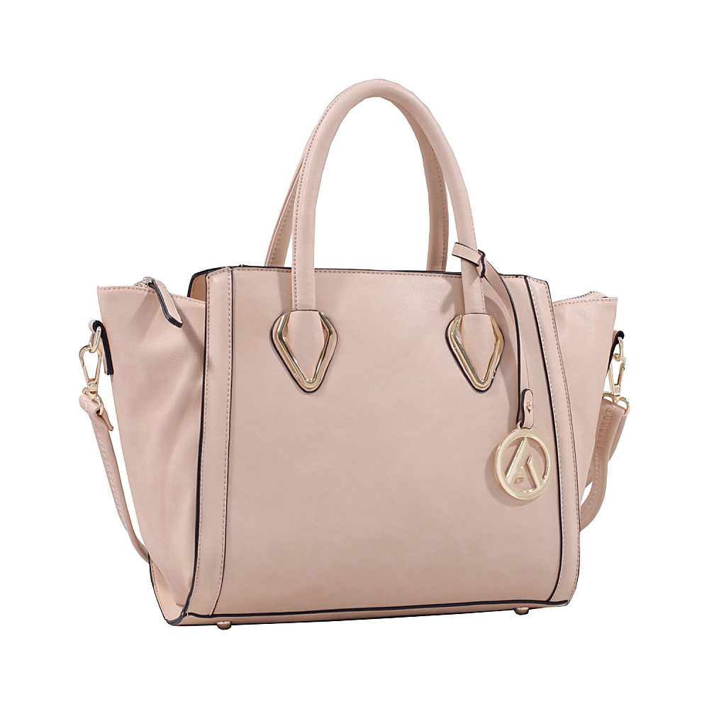 MKF Collection Cadence Handbag Light Tan MKF Collection Manmade Handbags