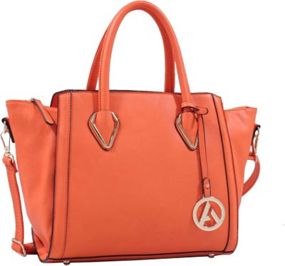MKF Collection by Mia K. Farrow MKF Collection by Mia K. Farrow Cadence Handbag Orange - MKF Collection by Mia K. Farrow Manmade Handbags