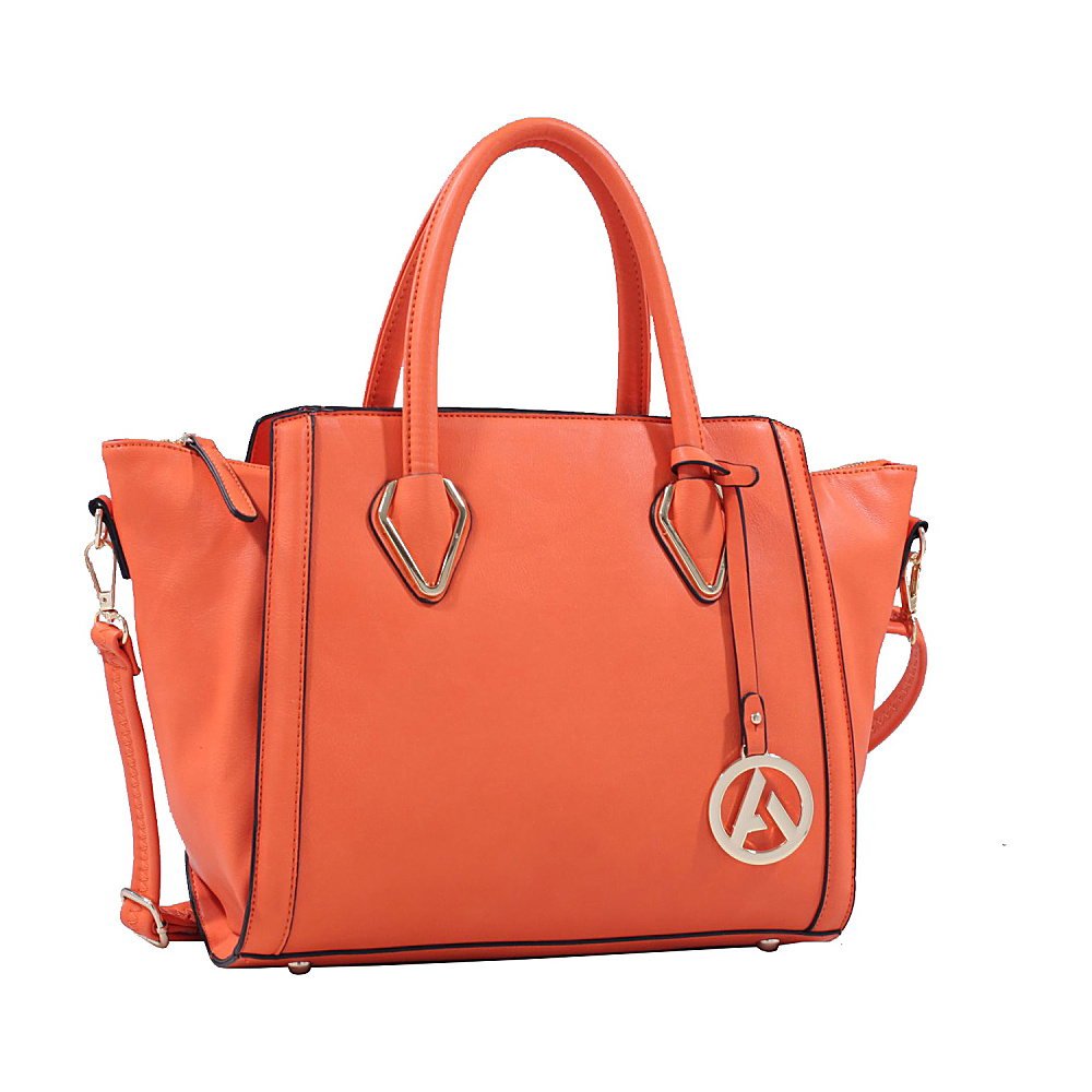 MKF Collection Cadence Handbag Orange MKF Collection Manmade Handbags
