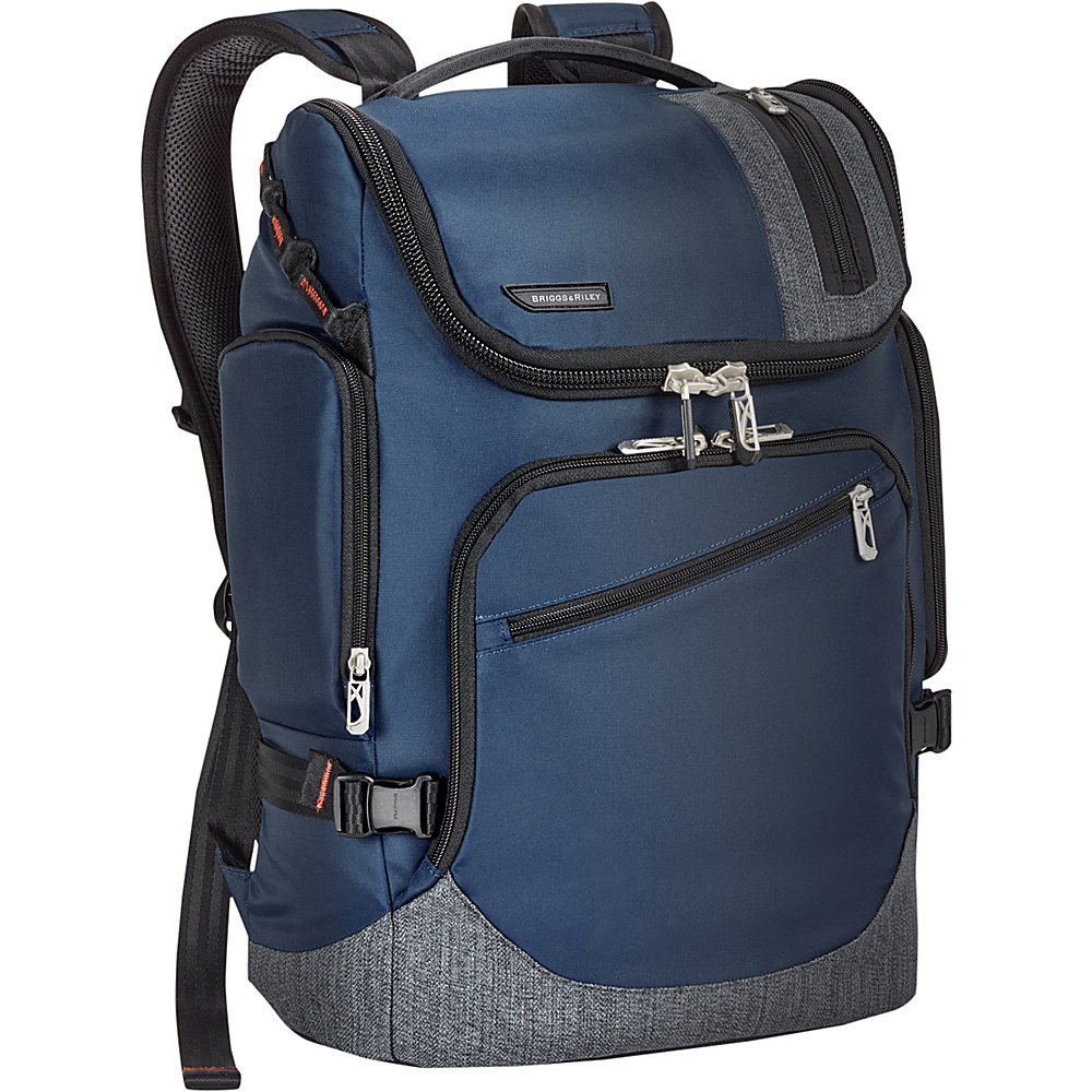 Briggs Riley Excursion Backpack Blue Briggs Riley Travel Backpacks
