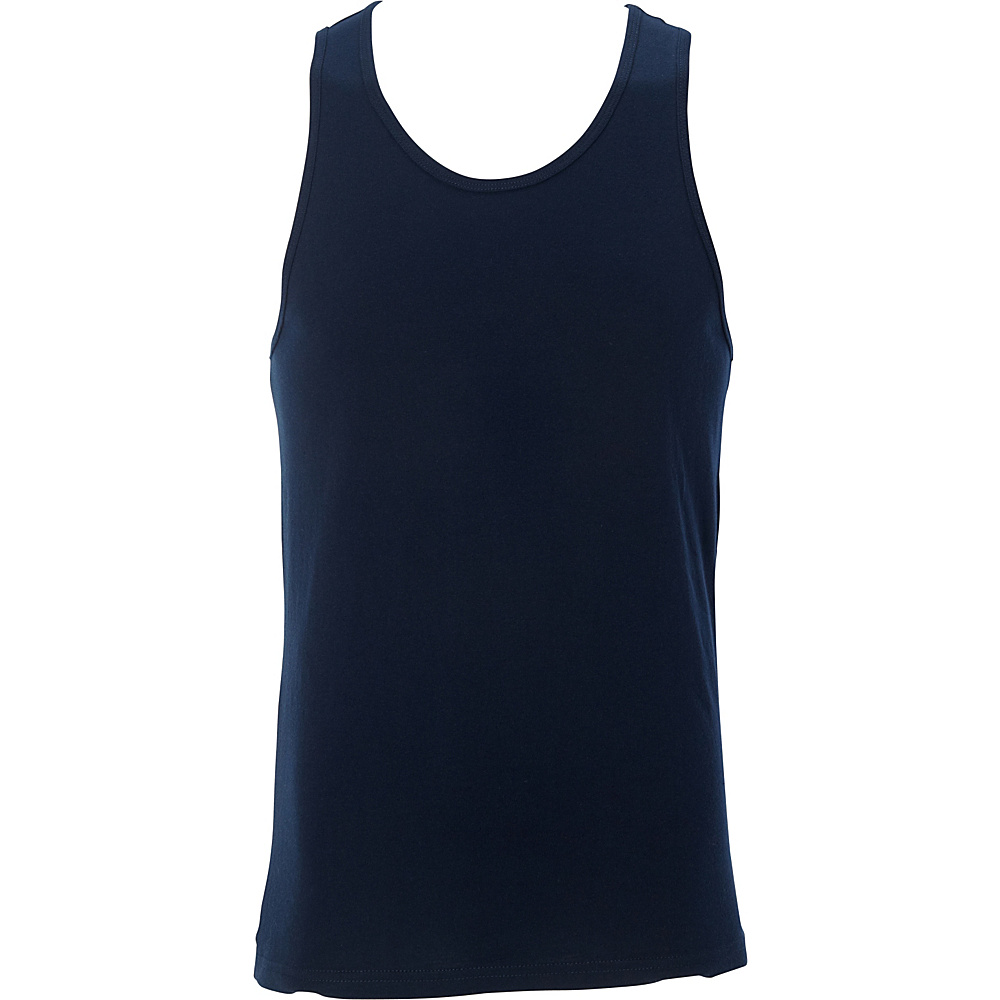 Simplex Apparel Premium Mens Tank XL - Navy - Simplex Apparel Mens Apparel - Apparel & Footwear, Men's Apparel