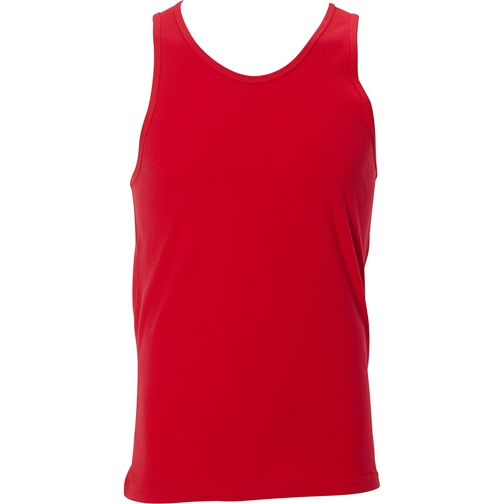 Simplex Apparel Premium Mens Tank XL - Red - Simplex Apparel Mens Apparel - Apparel & Footwear, Men's Apparel