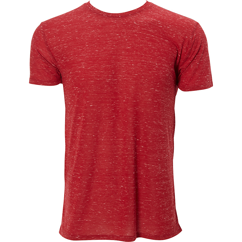 Simplex Apparel Caviar Mens Crew Tee S - Maroon - Simplex Apparel Mens Apparel - Apparel & Footwear, Men's Apparel