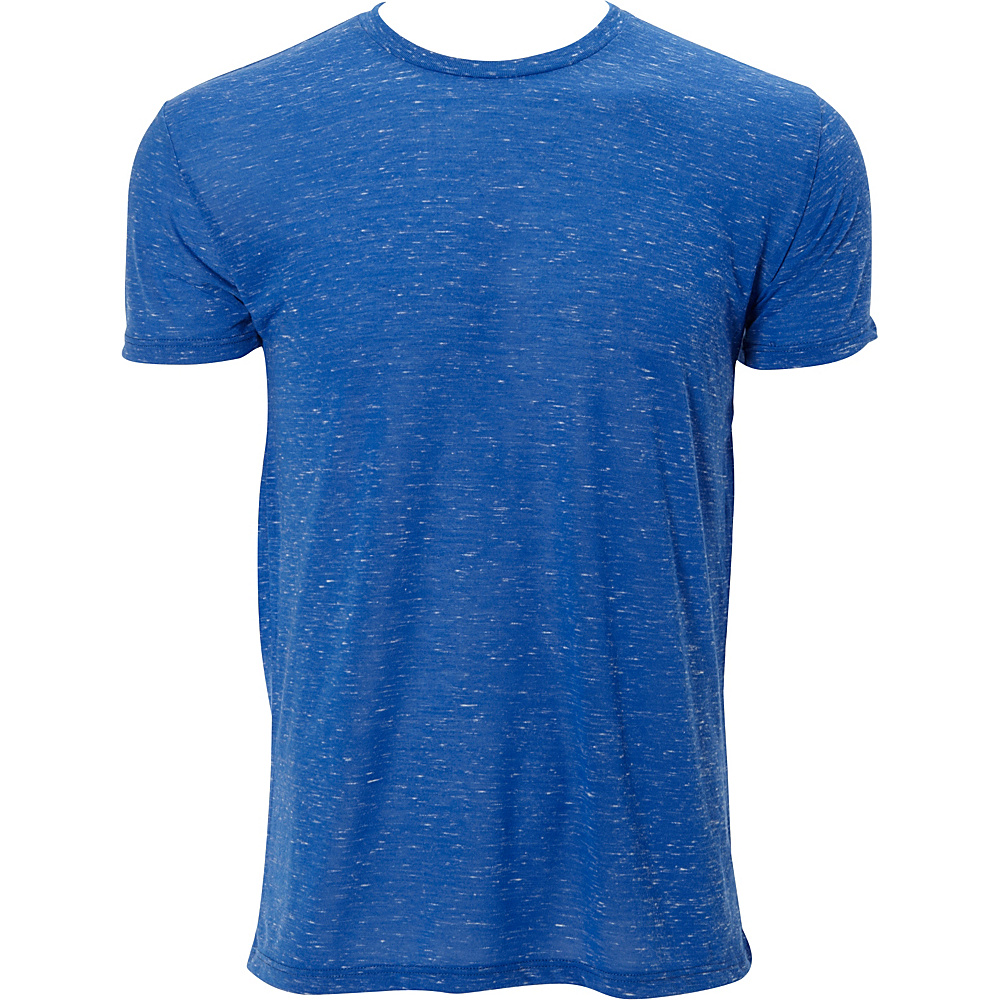 Simplex Apparel Caviar Mens Crew Tee M - Royal - Simplex Apparel Mens Apparel - Apparel & Footwear, Men's Apparel
