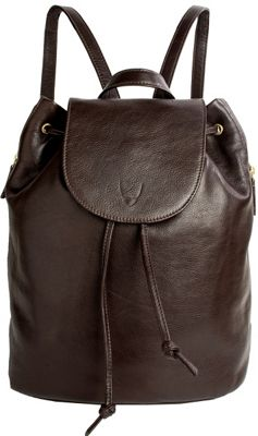 Hidesign Leah Leather Backpack Brown - Hidesign Leather Handbags
