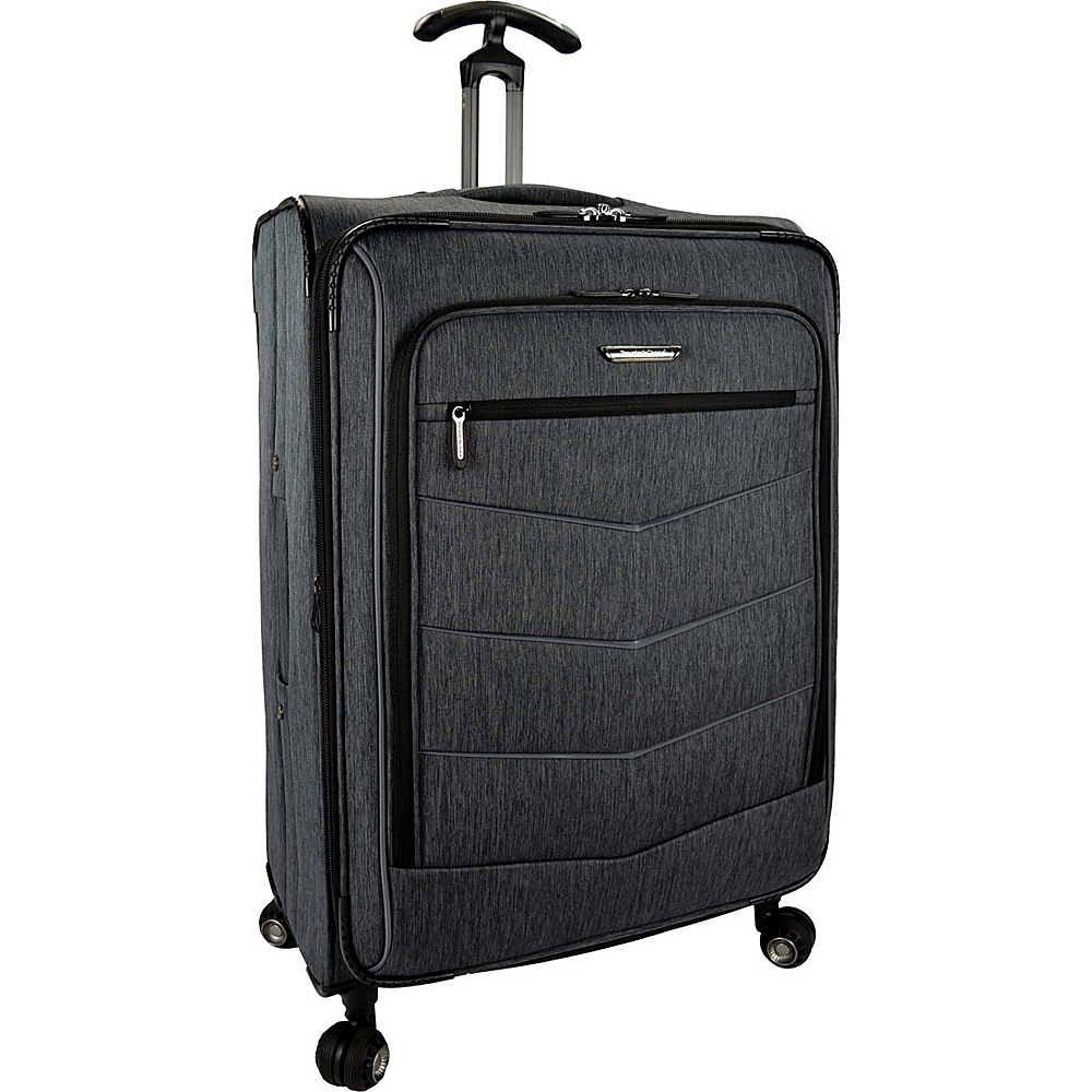 Traveler s Choice Silverwood 30 Softside Spinner Luggage Gray Traveler s Choice Softside Checked