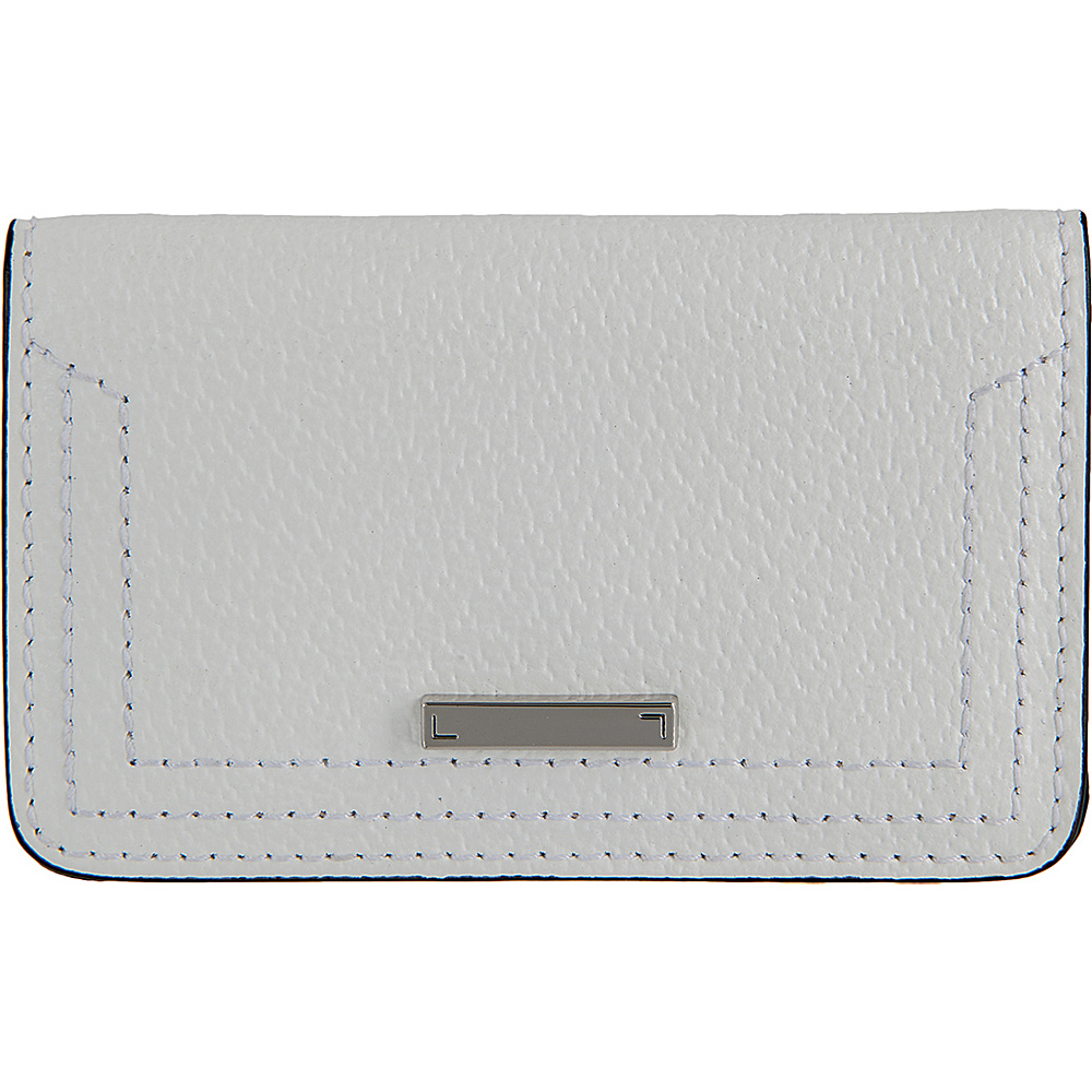 Lodis Stephanie Under Lock & Key Mini Card Case White - Lodis Womens Wallets - Women's SLG, Women's Wallets