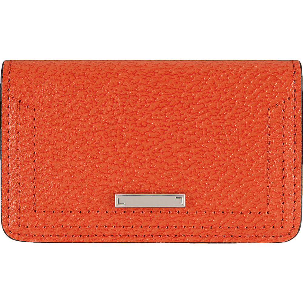Lodis Stephanie Under Lock & Key Mini Card Case Orange - Lodis Womens Wallets - Women's SLG, Women's Wallets