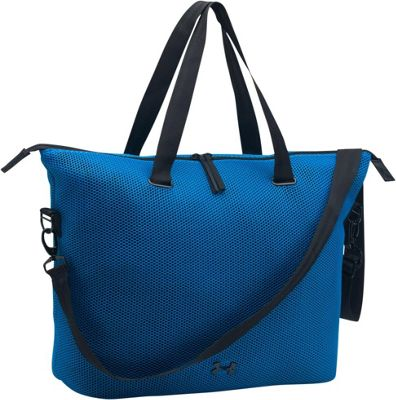 Under Armour On the Run Tote Mediterranean/Black/Black - Under Armour Gym Duffels