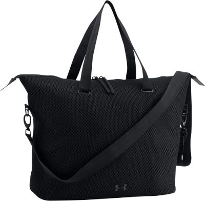 Under Armour On the Run Tote Black/Black - Under Armour Gym Duffels