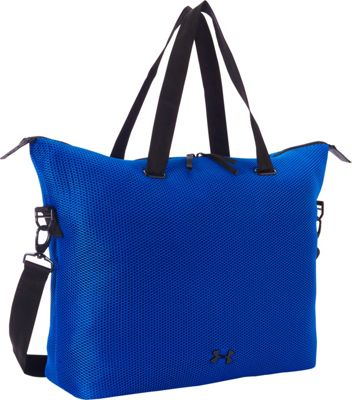 Under Armour On the Run Tote Ultra Blue - Under Armour Gym Duffels