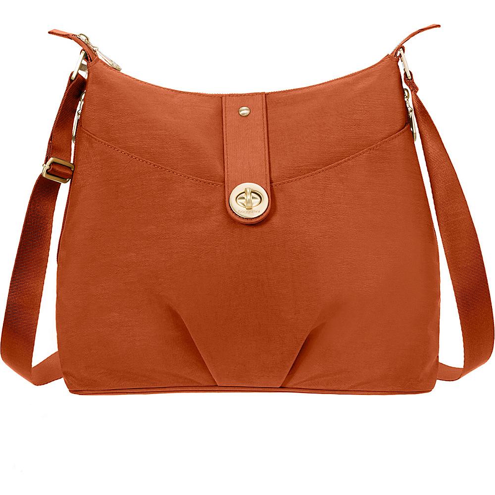 baggallini Gold Helsinki Bagg- Retired Colors Papaya - baggallini Fabric Handbags