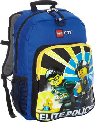 LEGO LEGO City Elite Police Backpack Blue - LEGO Everyday Backpacks