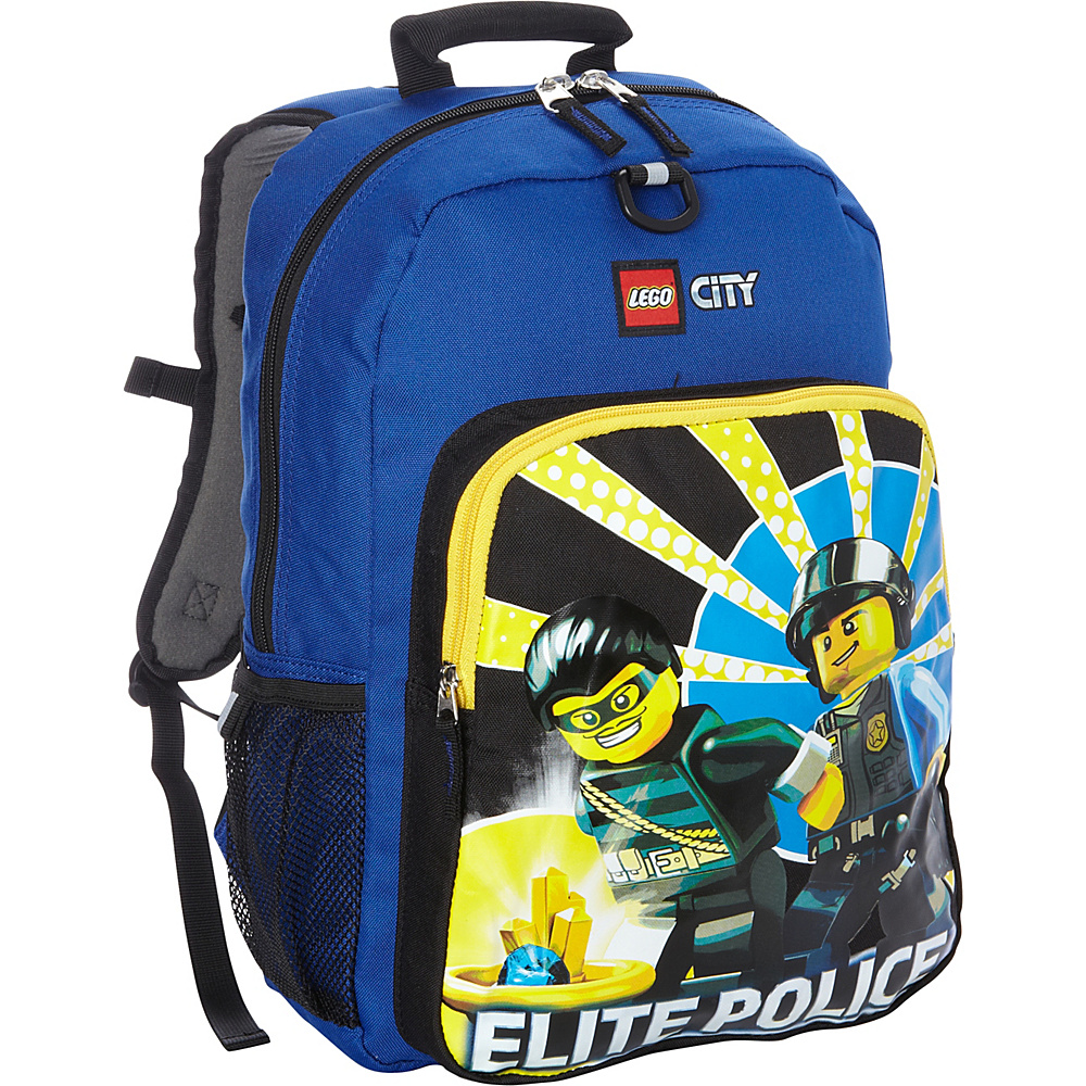LEGO City Elite Police Backpack Blue LEGO Everyday Backpacks