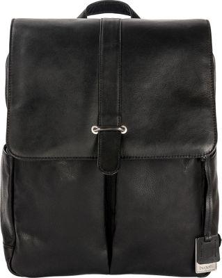 Bugatti Bello Leather Backpack Black - Bugatti Business & Laptop Backpacks