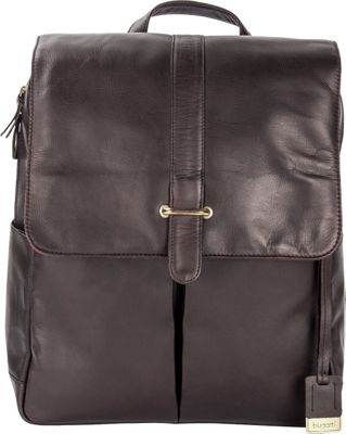 Bugatti Bello Leather Backpack Brown - Bugatti Business & Laptop Backpacks