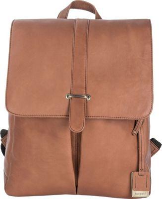 Bugatti Bello Leather Backpack Cognac - Bugatti Business & Laptop Backpacks
