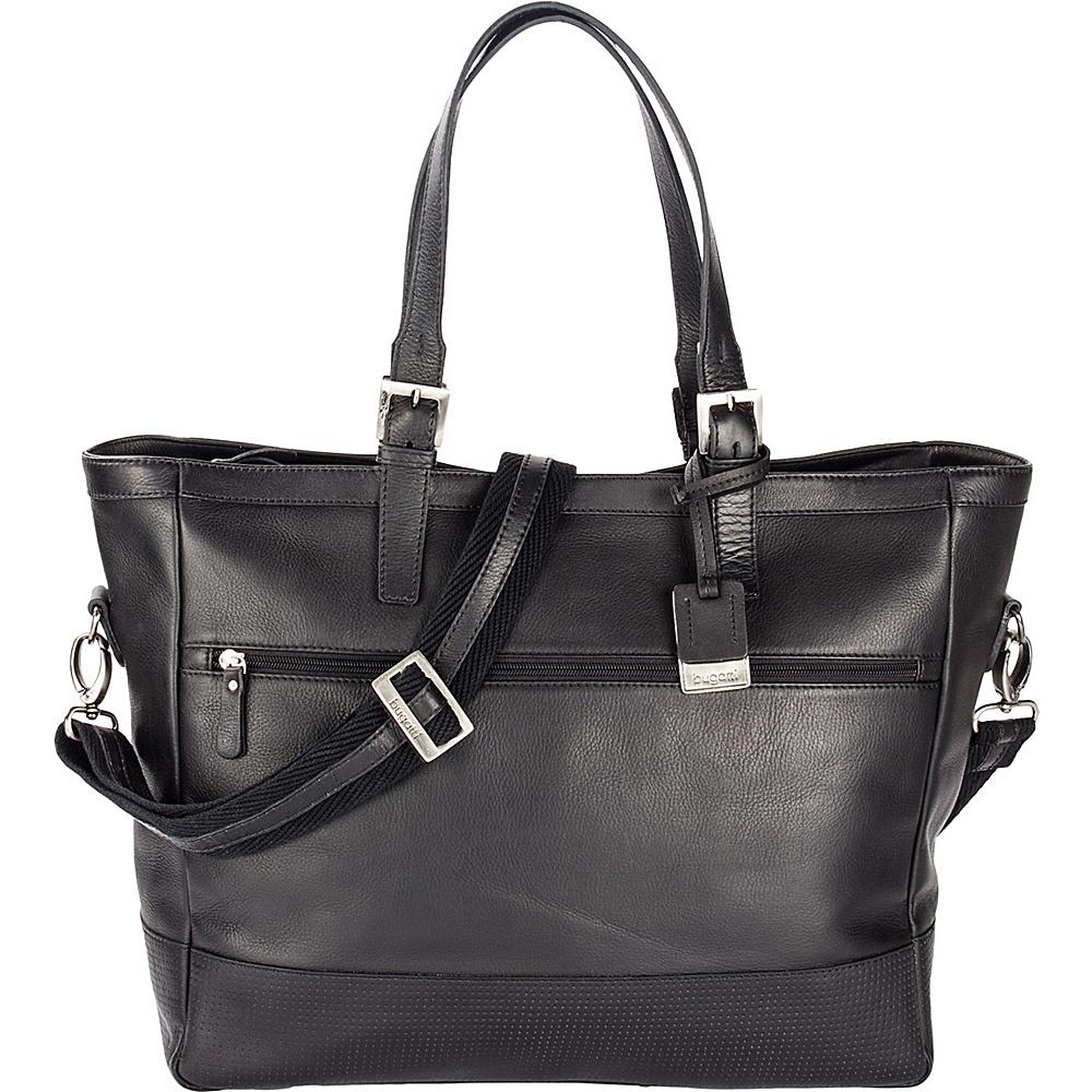 Bugatti Soledad Leather Ladies Bag Black Bugatti Leather Handbags