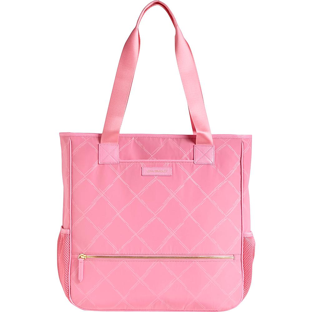 Vera Bradley Preppy Poly NoSo Tote- Retired Prints Blossom Pink - Vera Bradley Fabric Handbags