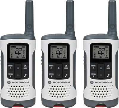 Motorola Solutions Talkabout T260TP Radio - 3 Pack White - Motorola Solutions Electronic Accessories