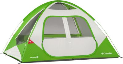Columbia Sportswear Pinewood 6 Person Dome Tent Fuse Green - Columbia Sportswear Outdoor Accessories