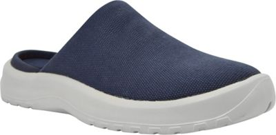 SoftScience Womens Daisy Canvas Clog 8 - Blue - SoftScience Women's Footwear