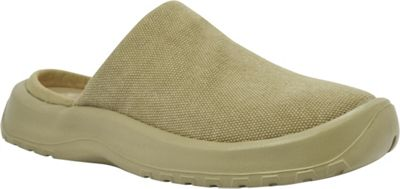 SoftScience Womens Daisy Canvas Clog 11 - Khaki - SoftScience Women's Footwear