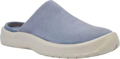 SoftScience Womens Daisy Canvas Clog 8 - Light Blue - SoftScience Women's Footwear