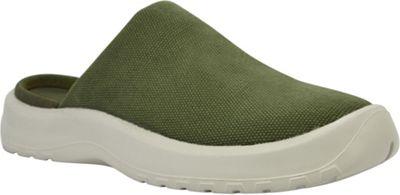SoftScience Womens Daisy Canvas Clog 6 - Sage - SoftScience Women's Footwear