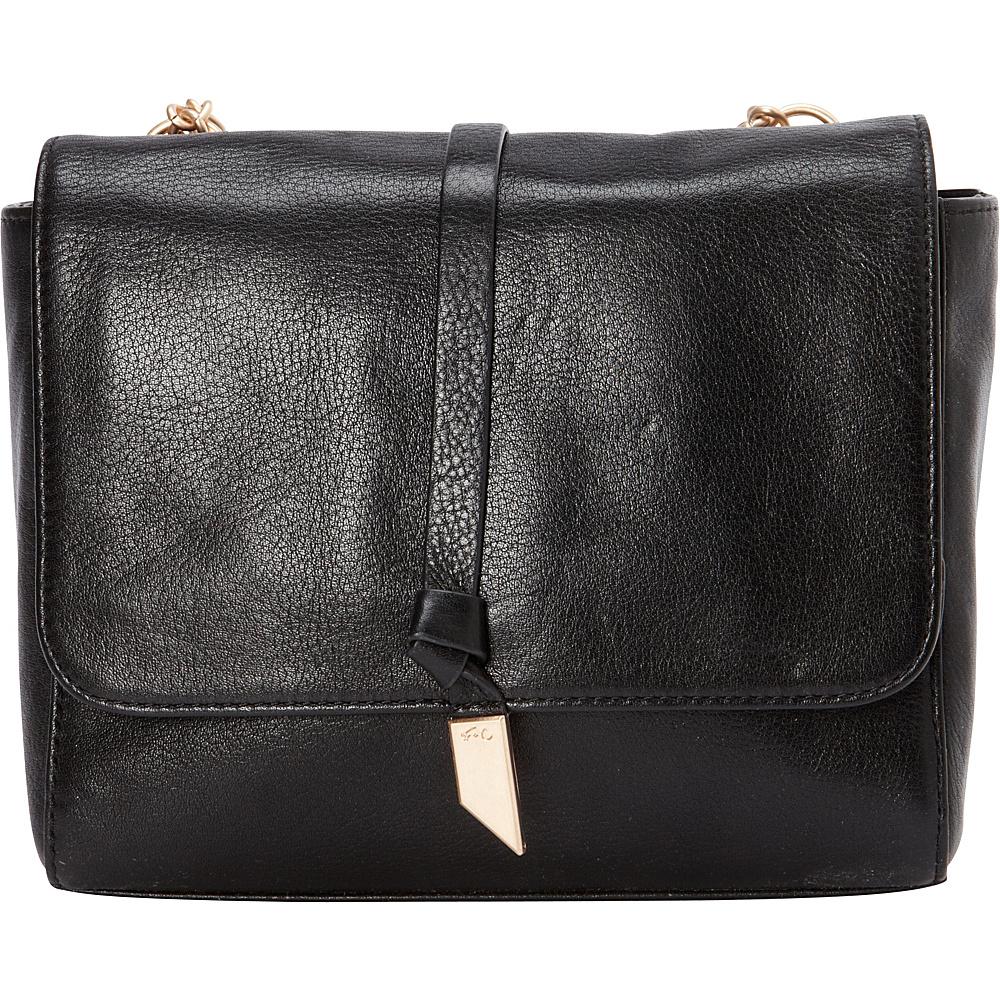 Foley Corinna Diane Crossbody Black Foley Corinna Designer Handbags
