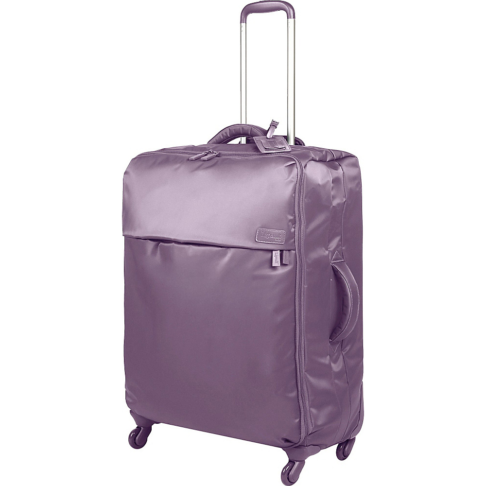 Lipault Paris Spinner 26 Dark Lavender Lipault Paris Softside Checked