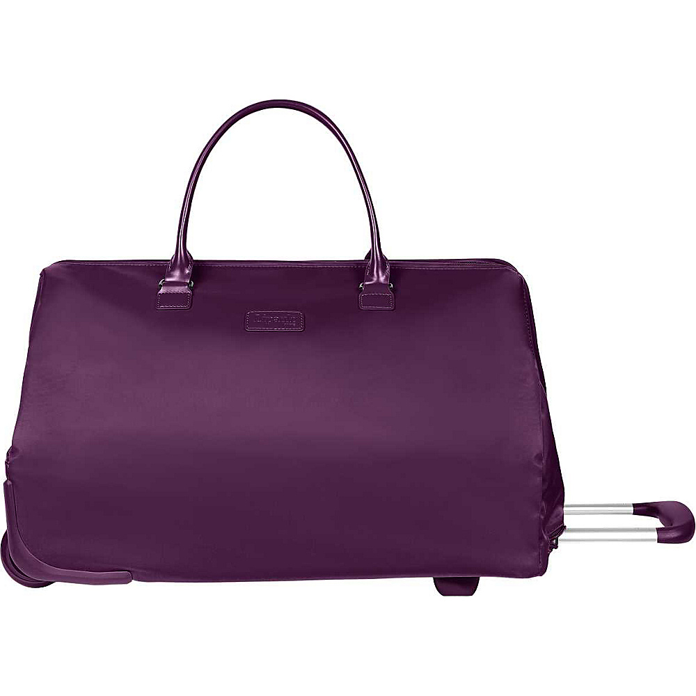Lipault Paris Weekend Bag Wheeled Purple Lipault Paris Luggage Totes and Satchels