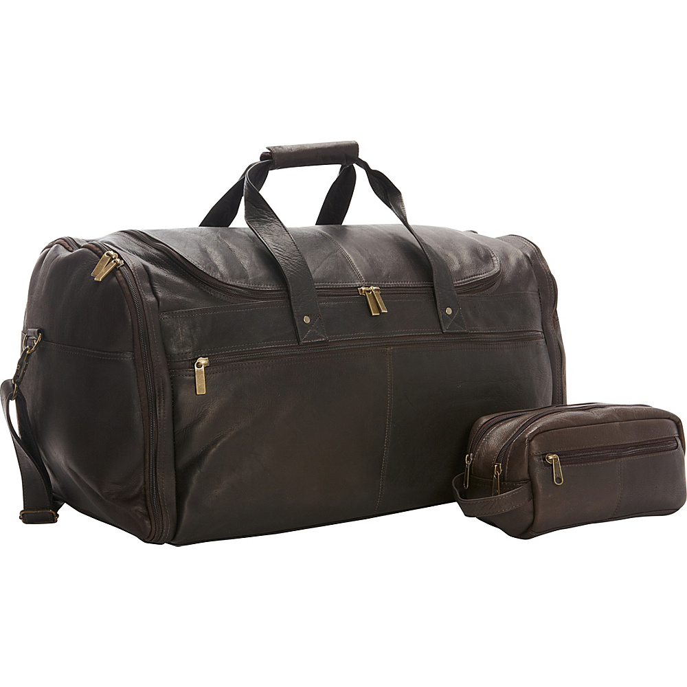 David King Co. Weekend Duffel and Shave Kit Combination Exclusive Cafe David King Co. Travel Duffels