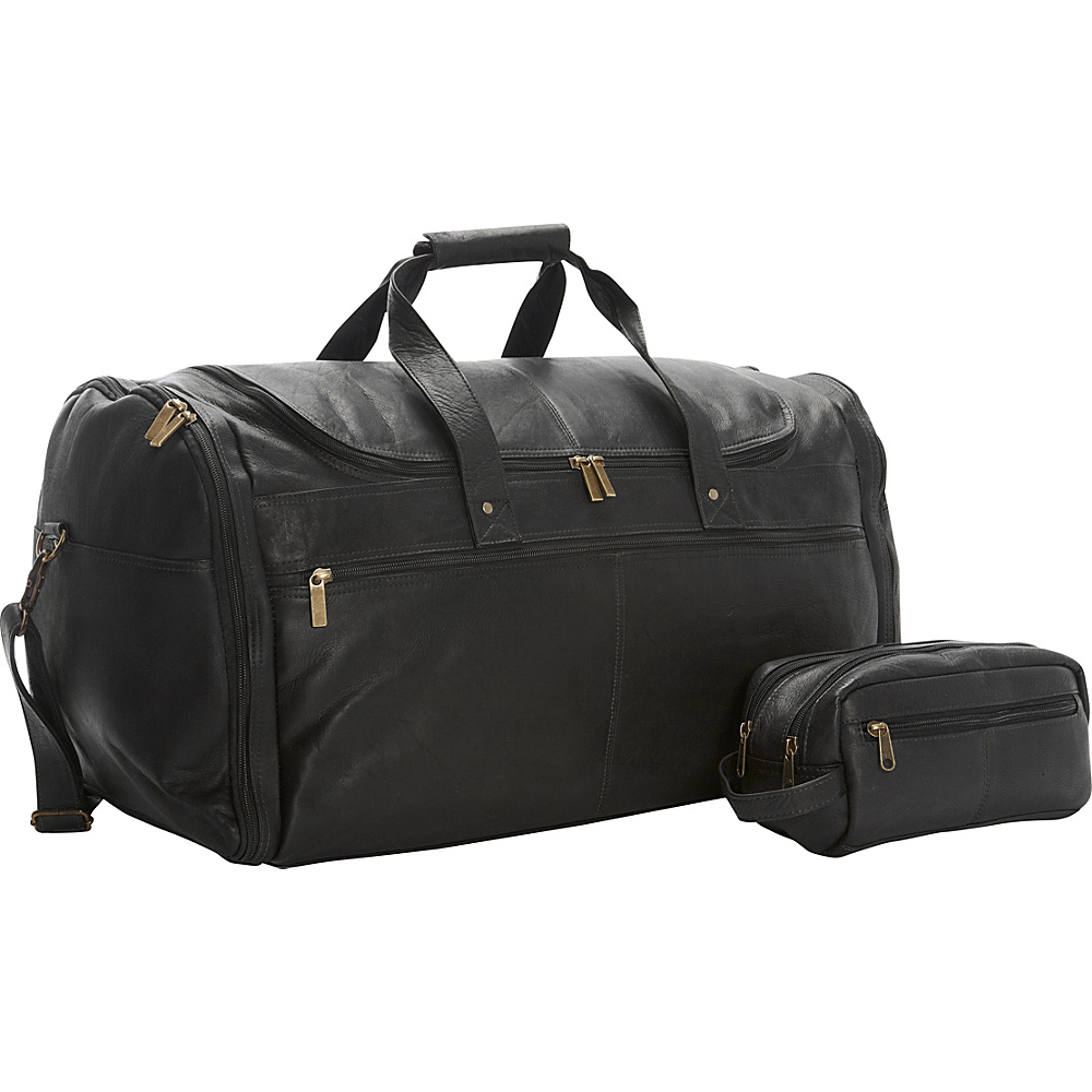 David King Co. Weekend Duffel and Shave Kit Combination Exclusive Black David King Co. Travel Duffels