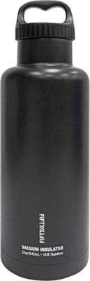 FIFTY/FIFTY Vacuum-Insulated Bottle-32oz Matte Black - FIFTY/FIFTY Hydration Packs and Bottles