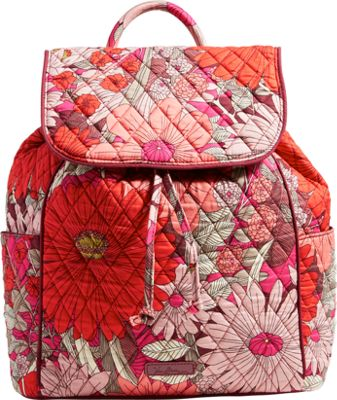 Vera Bradley Drawstring Backpack - Retired Prints Bohemian Blooms - Vera Bradley Fabric Handbags