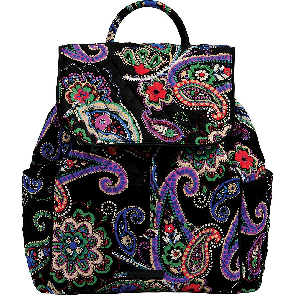 Vera Bradley Drawstring Backpack - Retired Prints Kiev Paisley - Vera Bradley Fabric Handbags - Handbags, Fabric Handbags