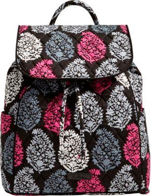 Vera Bradley Drawstring Backpack - Retired Prints Northern Lights - Vera Bradley Fabric Handbags