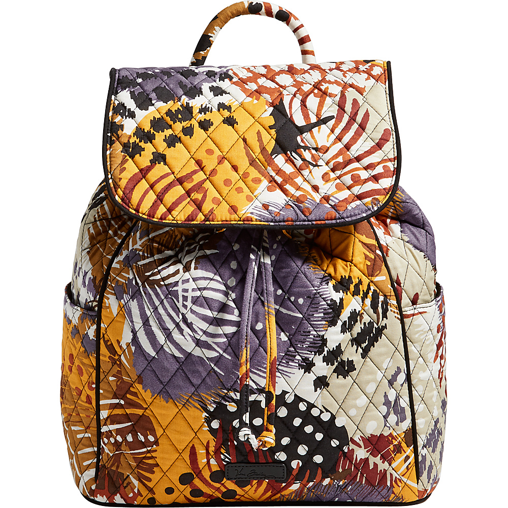 Vera Bradley Drawstring Backpack - Retired Prints Painted Feathers - Vera Bradley Fabric Handbags - Handbags, Fabric Handbags