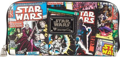 Loungefly Star Wars Comic Covers  Wallet Black/Multi - Loungefly Women's Wallets
