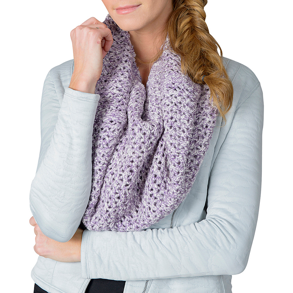 Soybu Jordyn Scarf Silver Plum - One Size Fits All - Soybu Hats/Gloves/Scarves - Fashion Accessories, Hats/Gloves/Scarves