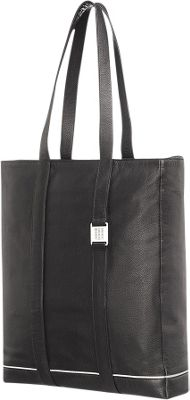Moleskine Lineage Leather Tote Bag Black - Moleskine Women's Business Bags